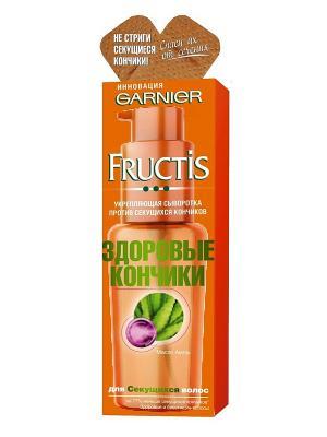 Сыворотка для волос Fructis, SOS восстановление, Здоровые кончики, 50 мл Garnier. Цвет: оранжевый