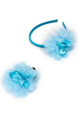 Набор NICE GIRL. Цвет: голубой