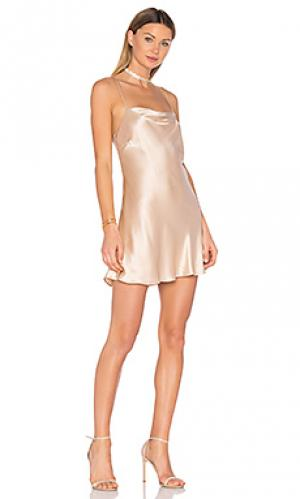 Платье naomi Backstage. Цвет: румянец