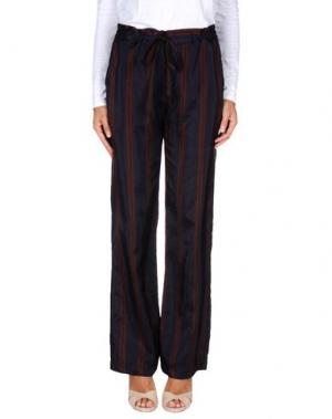 Повседневные брюки JUST IN CASE. Цвет: темно-синий