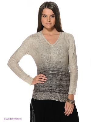 Пуловер Motivi. Цвет: бежевый
