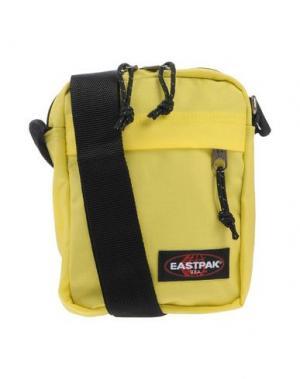 Сумка через плечо EASTPAK. Цвет: кислотно-зеленый
