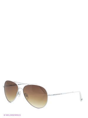 Солнцезащитные очки BB 564 R1 United Colors of Benetton. Цвет: белый, коричневый