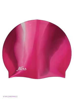 Шапочка для плавания JOSS. Цвет: малиновый