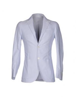 Пиджак LUIGI BIANCHI Mantova. Цвет: небесно-голубой