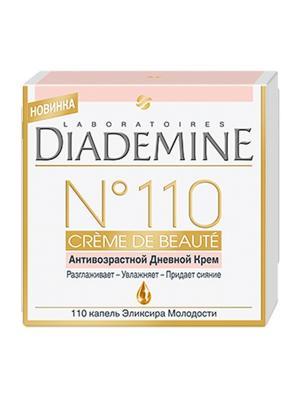 Дневной крем №110 Creme de Lumiere 50 мл Diademine. Цвет: молочный