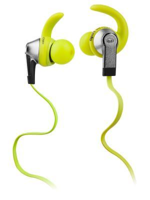 Наушники с микрофоном Monster iSport Victory In-Ear, Green. Цвет: зеленый
