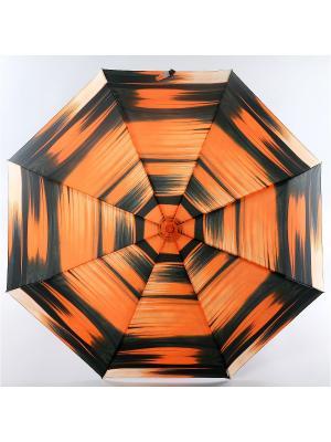 Зонт Trust. Цвет: оранжевый, белый, черный