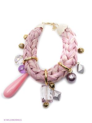 Браслет Maru by Safri. Цвет: розовый