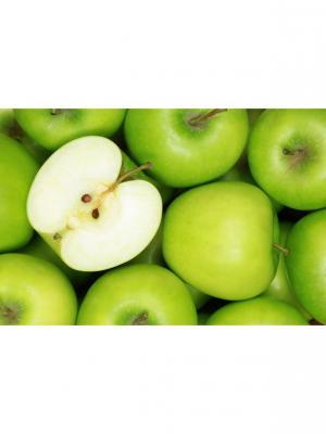 Картина Зеленые яблоки Ecoramka. Цвет: зеленый, салатовый, светло-зеленый