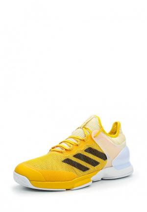 Кроссовки adidas Performance. Цвет: желтый