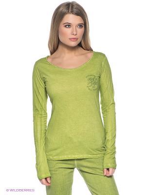 Лонгслив CMP. Цвет: зеленый