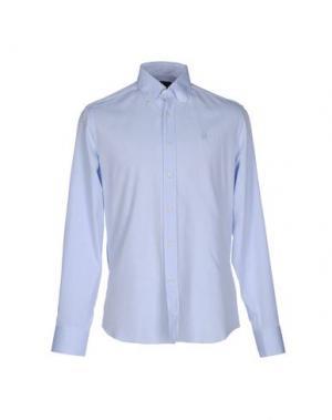 Pубашка CONTE OF FLORENCE. Цвет: небесно-голубой