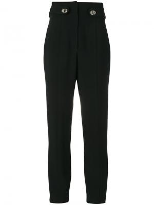 Прямые брюки Proenza Schouler. Цвет: чёрный