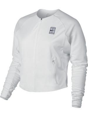 Куртка W NKCT DRY JKT BL Nike. Цвет: белый