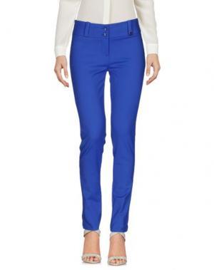 Повседневные брюки TRY ME. Цвет: синий