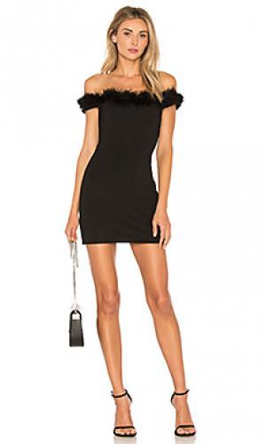 Мини платье marisole NBD. Цвет: черный