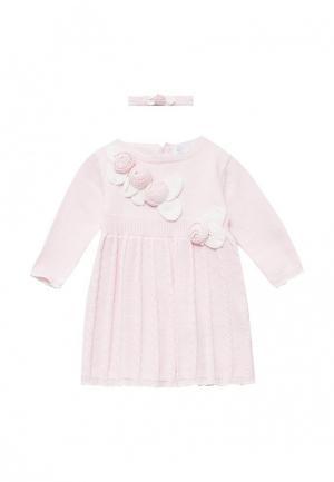 Платье Zip Zap. Цвет: розовый