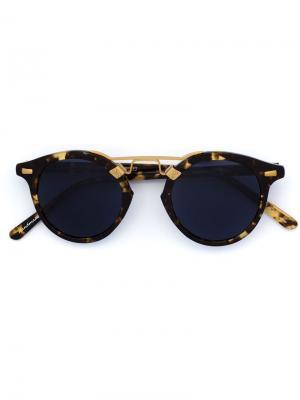 Солнцезащитные очки St. Louis Krewe Du Optic. Цвет: многоцветный