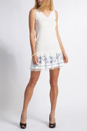 Платье MAMATAYOE. Цвет: бежевый