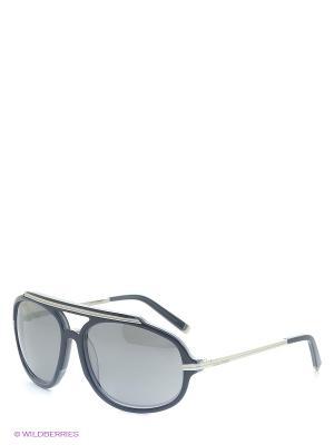 Солнцезащитные очки DQ 0089 92C Dsquared. Цвет: серый, темно-синий
