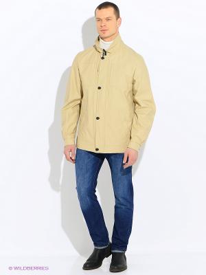 Куртки ALEX Maritta. Цвет: горчичный