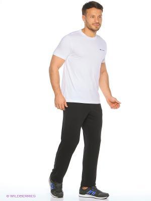 Спортивные брюки CHAMPION. Цвет: черный