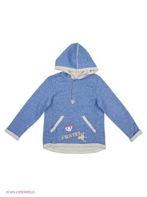 Пуловер SMIL. Цвет: голубой