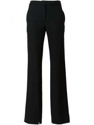 Укороченные брюки Ann Demeulemeester Blanche. Цвет: чёрный