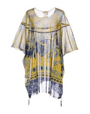 Блузка FUZZI. Цвет: темно-синий