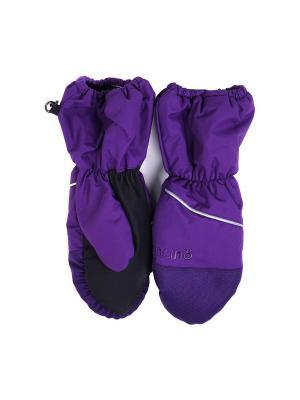 Варежки NANO. Цвет: фиолетовый