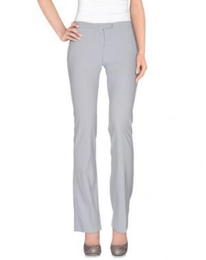 Повседневные брюки MAESTA. Цвет: светло-серый