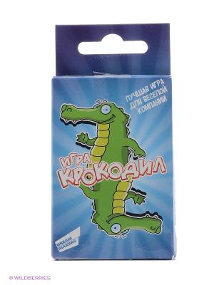 Игра детская настольная Крокодил. Mini DREAM MAKERS. Цвет: голубой