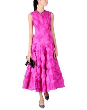 Длинное платье ROKSANDA. Цвет: фуксия