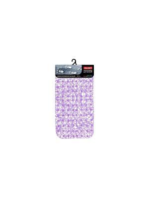 Коврик для ванны, противоскользящий, LILAC AQUA VALIANT. Цвет: лиловый