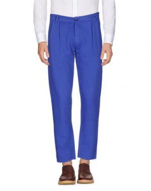 Повседневные брюки ÉTUDES STUDIO. Цвет: ярко-синий