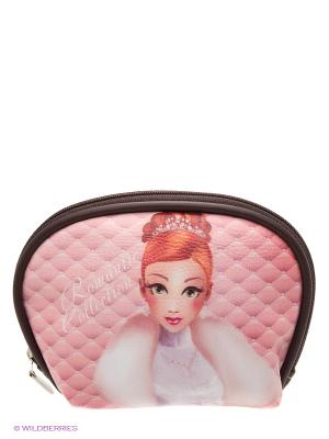Косметичка Романтик Daisy Design. Цвет: розовый