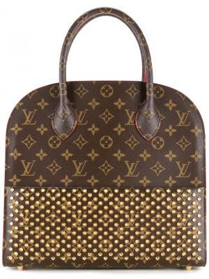 Louis Vuitton x Christian Louboutin tote Vintage. Цвет: коричневый