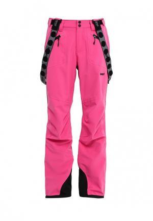 Брюки горнолыжные Bergans of Norway. Цвет: розовый