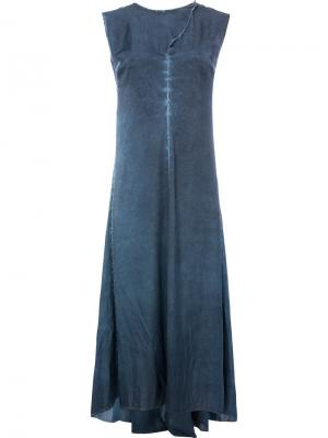 Backless dress Masnada. Цвет: синий
