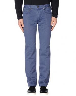 Повседневные брюки BETWOIN. Цвет: синий