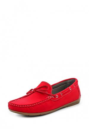 Мокасины WS Shoes. Цвет: красный