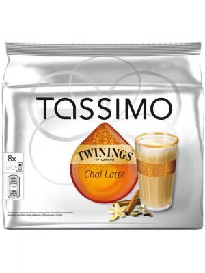 Капсулы T-диски Tassimo Twinings Chai Latte чай латте, 8 порций. Цвет: черный