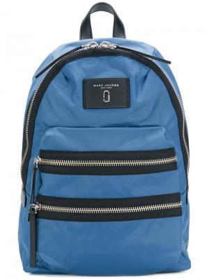 Рюкзак с логотипом Marc Jacobs. Цвет: синий