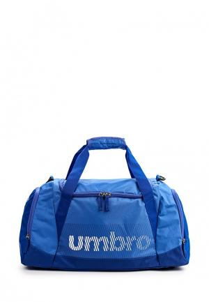 Сумка спортивная Umbro. Цвет: синий