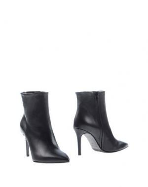 Полусапоги и высокие ботинки JEREMY-HO. Цвет: черный