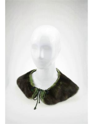 Воротник Mex-Style. Цвет: темно-зеленый