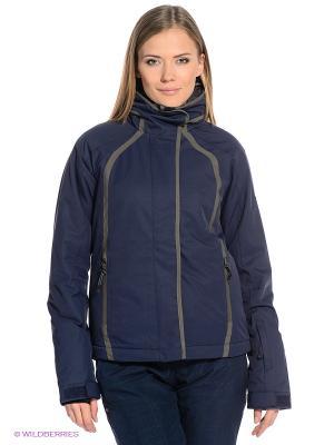Куртка Quiksilver Women. Цвет: синий