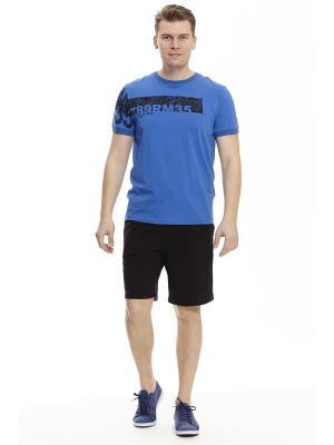 Копмлект с шортами RELAX MODE. Цвет: синий, черный