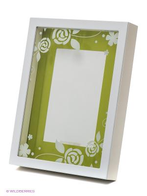 Фоторамка VELD-CO. Цвет: зеленый, белый